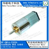 Waterproof DC Gear Motor 16mm Diameter with 60RPM Rated Load Speed GM16-030SA