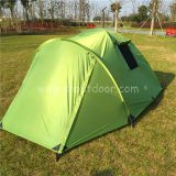 4 Man Camping Tent Double Layer RainProof Tents For Outdoor Equipment