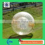 hot selling and good quality inflatable human soccer bubble / bumper ball / football zorb