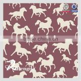 PVC coated 100% polyester horse rug fabric