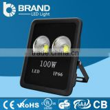 Die cast aluminum led flood light housing 100 watt outdoor lighting led flood light rechargeable ip66 waterproof