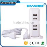 Wholesale EU US AU UK 30W Watt 5 Port USB Desktop Rapid Charger,Multiport USB consumer electronics wall usb charger free sample