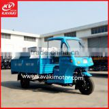 Kavaki Perfect Design Durable 250cc Air Cooled Hydraulic Garbage Tricycle Truck With Closed Cabin