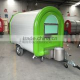 mobile food trailer green Fast Food Cart For Sales,fast food trailer mobile food kiosk catering trailer
