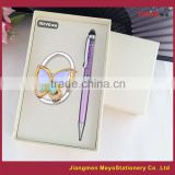 Touch Ball Pen And Folding Women's Purse Decorative Hanger Hook,Promotional Gift Set 2015