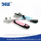 2014 pet grooming products dog deshedding tool dog dematting comb