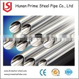 Top selling sch 40 TP 304 316 stainless steel pipe price per meter for building material decoration