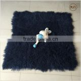 Luxury Mongolian Fur Carpet Fur Rugs Fur Throws