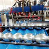 corrugated steel sheet roll forming machine made in china galazed tile roll forming machine