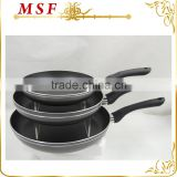 MSF-6694 Oil free healthy aluminum frypan non stick fry pan sa seen on tv sizes 20cm to 30cm are available