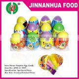 plastic surprise egg candy toy