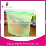 Reusable Fresh Vegetable Storage Easy-clean Silicone Food Bag