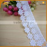high quality discount white battenburg 100% cotton embroidery lace trims wholesale market in dubai