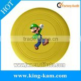 silicone toy frisbee for pet dog silicon outdoor frisbee