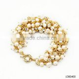 Wholesale Mother of pearl bracelet with silk thread