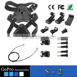 New Factory Price Wholesale lighting light up dog harness for gopro SJcam Xiaomi Yi camera and phone led dog harness