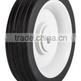 5 inch semi-pneumatic rubber wheel for small trolley
