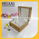 OEM luxury wooden Bangle jewelry packaging box wholesale                                                                                                         Supplier's Choice