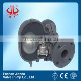 flange type lever floating ball steam trap valve pn25