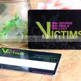 2015 new coming professional noble pvc privilege card