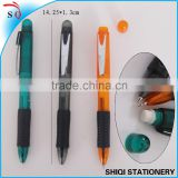 Customized 3 In 1 Click Pen and mechanical pencil with eraser