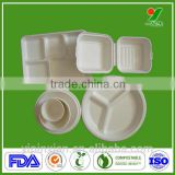 The most wonderful sugar cane fiber disposable plate with printed                                                                         Quality Choice