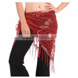 2016 Cheap Sexy belly dance hip scarf triangle belly dancing waist belts for women on sale