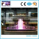 Large Outdoor Customized Cast Iron Floating Flower Water Fountain