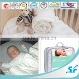 100% cotton waterproof microfiber down mattress for baby bed