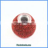 Wholesale Hot Indonesia Red Resin Beads For Jewelry Making PCB-M100546
