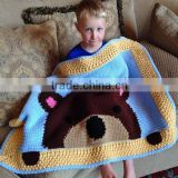 Wholesale handmade crochet baby blanket for sale