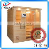 4-6 person keys backyard sauna,steam sauna room with best quality price