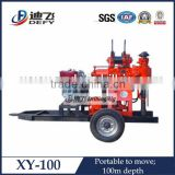 Used blast hole drill rig XY-100 small rotary water well drilling machine