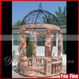 Decorative Garden Stone Metal Gazebo