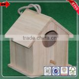 New Design Cheap Unfinished Wholesale Wooden Decorative Bird Cages