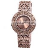 weiqin w4243 waterproof gold face bling crystal watches