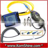 KOMSHINE Fiber Optic MicroScope KIP-500V Fiber Optic Connector Inspection Video Inspection Probe and Display 400X Probe