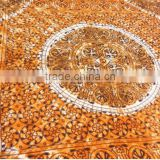 RTBS-8 Designer Sanganeri Printed Queen Size Royal Looking Bedsheet / Bed Spread Comfortable Home Beddings set From Jaipur
