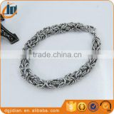 Stainless steel cuban link bracelets bangles gold plated customize bracelets
