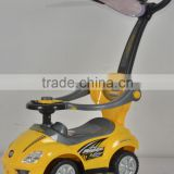 Baby Ride on car can do as 3 in 1 for baby walker, baby stroller, ride on car with the sun canopy