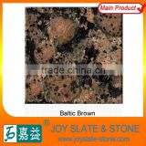 Granite shower wall panels for baltic brown in hot sale