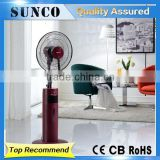 16 inch Plastic Stand mist fan Oscillating fan