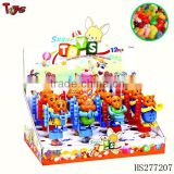 Walking band plastic toy candy