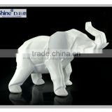 High gross White Elephant statue gift decoration
