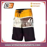 Stan Caleb Wholesale flower mens surf board shorts, custom fishing shorts hot sale in France