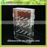 DDC-C022 Trade Assurance Chinese Factory Wholesale SGS Test Lockable Accessories Display Cabinet With Peggy Hooks