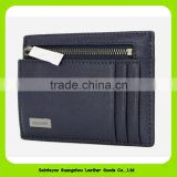 Funky Slim Leather Front Pocket Wallet Credit Card Holder 16462