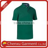 plain green color polo shirts custom embroidery mens polyester mesh t shirt boy clothing poloshirt for men