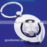 football club keychain, football keyring