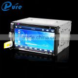"6.95"" touch screen universal car dvd player with radio bluetooth support dvd cd sd player"